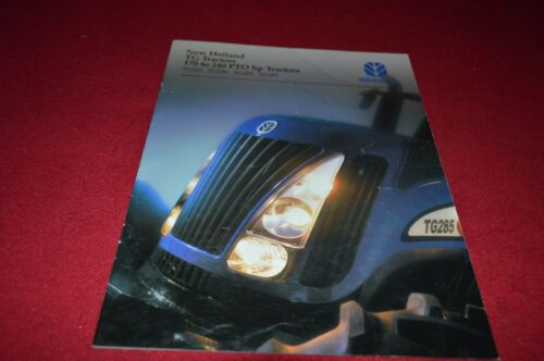 New Holland TG210 TG230 TG255 TG285 Dealer/'s Brochure YABE6 ver2