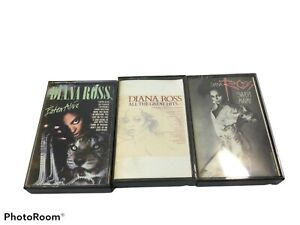Diana Ross Cassette Tape 1976 Motown Records Pop Top 40 Music Vintage Lot 3