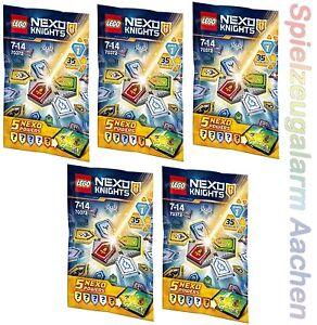 LEGO NEXO KNIGHTS Combo Set 5x 70372 NEXO Kräfte Serie1 N1/17