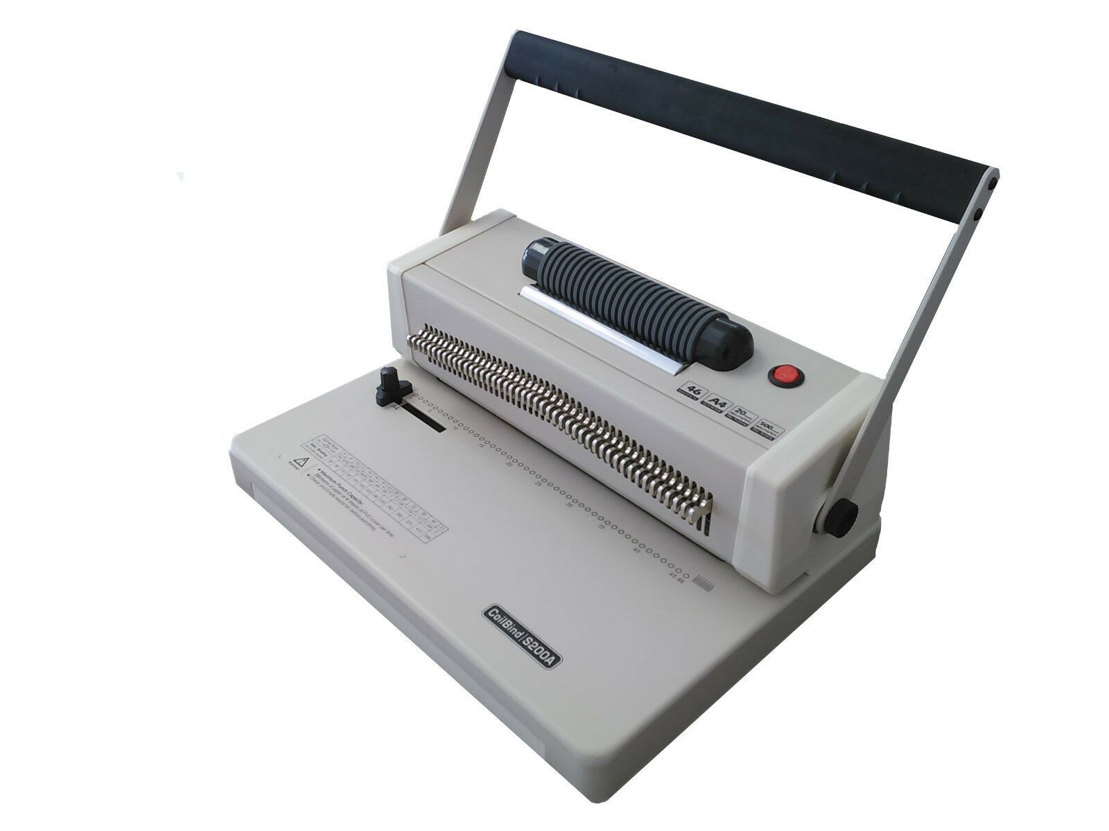 DFG Office ECoil Electric Plastic Coil Binding Machine |Coil Binding Machine