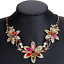 Women-Chunky-Fashion-Crystal-Bib-Collar-Choker-Chain-Pendant-Statement-Necklace thumbnail 27