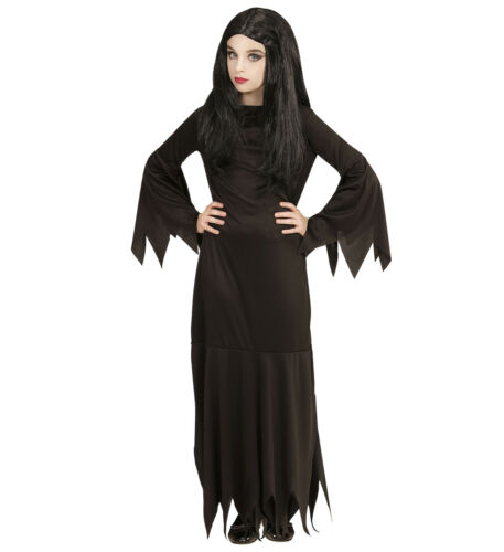 Widmann Mortisia Kleid schwarz Kinder Kostüm Karneval Fasching Halloween 7196