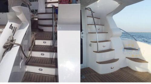 6x12V LED Courtesy Light for RV Caravan Boat Ship Outdoor Stair Step Light Blue