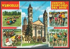 MONDINE 77 MONDARISO RISO RISAIA LAVORI AGRICOLI MESTIERI - VERCELLI Cartolina
