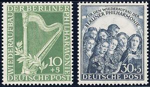 BERLIN-1950-MiNr-72-73-tadellos-postfrisch-gepr-Schlegel-Mi-140