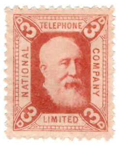 I-B-National-Telephone-Company-3d-Indian-Red