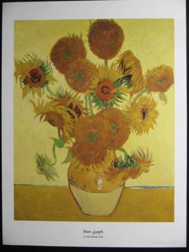 Kunstdruck 60 x 80 cm van Gogh Sunflowers 1888