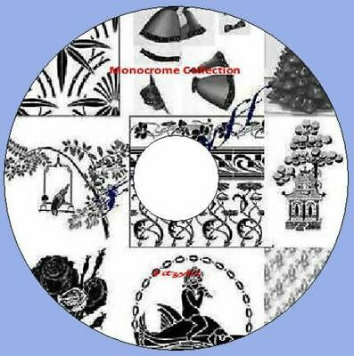 11,000 Alphabet /& Number images Art /& Craft Card CD Rom