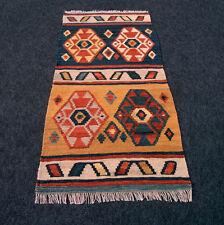 Orient Teppich Kelim Kilim 140 x 72 cm Kaukasus Nomadenteppich Perserteppich Rug