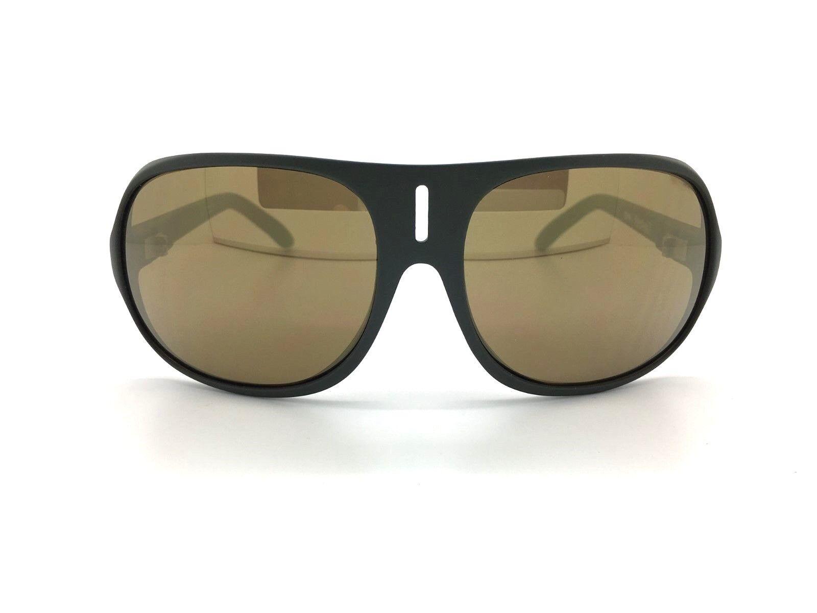 SPY+ Optic Stratos II Sunglasses 670735382080 Matte Green Frame Bronze gold Lens