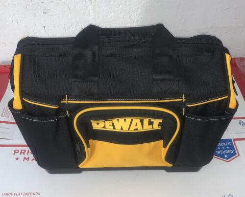 """NEW DEWALT N712935 16"""" X 12/"""" X 10/"""" Large Heavy Duty Tool Bag w// 23 Total Pockets"""