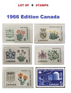1966 Stamps Issue - Canada 5 Cents