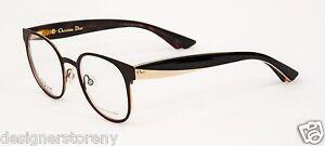 3178647636c9 CHRISTIAN DIOR CD3781 CD 3781 MJJ Brown Ivory Color Eyeglasses Frame ...