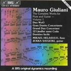 Giuliani Works for Flute and Guitar Vol 1 CD 2004