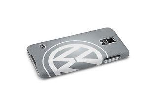 Original-VW-Samsung-Galaxy-S5-Cover-Schutzhulle-Grau-000051708D-8XP-NEU