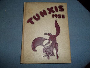 1953-WINDSOR-HIGH-SCHOOL-YEARBOOK-WINDSOR-CT-KNOWN-AS-THE-034-TUNXIS-034