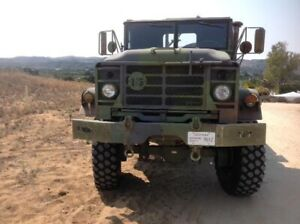 Harsco Military 5 ton BMY M923A2 6x6 in great condition, New Michelin tires.