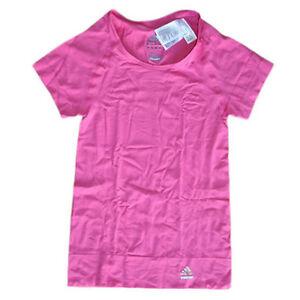 Adidas-Techfit-T-Shirt-Gr-S-M-L-XL-ClimaCool-rosa-NEU