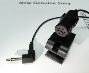 new genuine sony microphone for mex bt31pw mex bt3100p mex bt3153u image is loading new genuine sony microphone for mex bt31pw mex