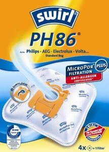 2 HEPA-Filter geeignet für AEG Silent performer ASP7110 20 Staubsaugerbeutel