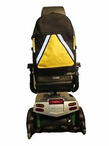 HIGH-VISIBILITY-Mobility-Scooter-Wheelchair-Bag-Optional-Crutch-Stick-Holders