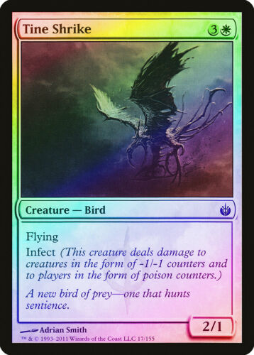 Tine Shrike FOIL Mirrodin Besieged NM-M White Common MAGIC MTG CARD ABUGames