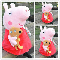 New Peppa Pig Stuffed Figures Toy Plush Doll 19CM/7.5inch Kids Lovely Gift baby