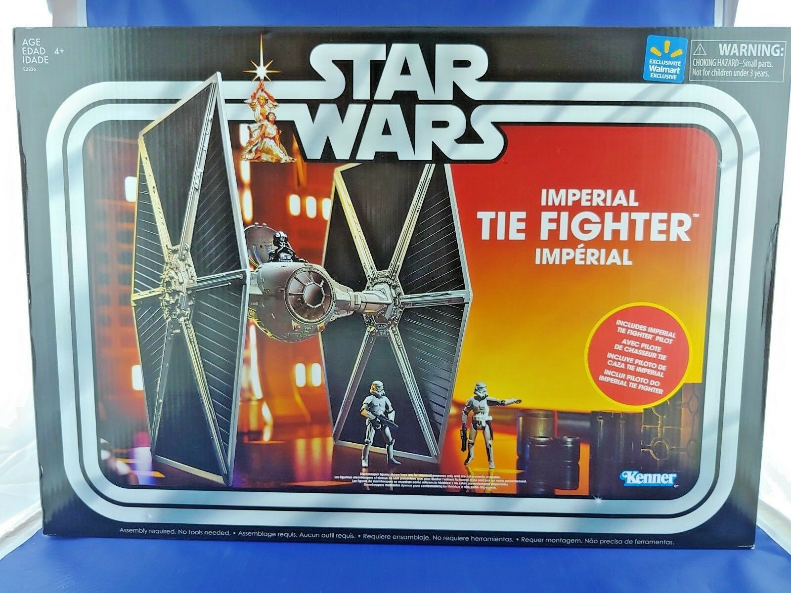 NEW Star Wars THE VINTAGE COLLECTION TVC TVC TVC WALMART EXCLUSIVE 2018 TIE FIGHTER  NIH c9a58e