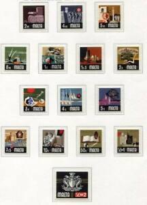 37479) Malta 1973 MNH Definitives 15v
