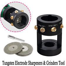 Tungsten Grinder Sharpener Multi Angle Amp Offsets Head Tool Tig Welding