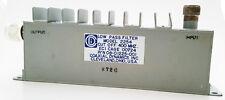 Rf Low Pass Filter 400mhz Cut Off Coaxial Dynamics Model 2254 1 Piece