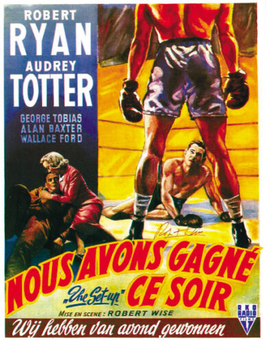The set-up Robert Ryan vintage movie poster print #5