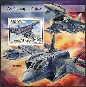 MOZAMBIQUE-2016-SUPERSONIC-AIRCRAFT-SOUVENIR-SHEET-MINT-NH