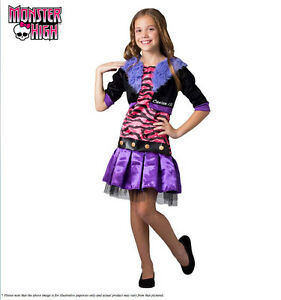 Image is loading Monster-High-Clawdeen-Wolf-Costume -Scarylicious-Girls-Halloween-  sc 1 st  eBay & Monster High Clawdeen Wolf Costume Scarylicious Girls Halloween ...