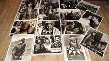 DAVID ET GOLIATH ! orson welles  photos presse cinema  argentique tournage