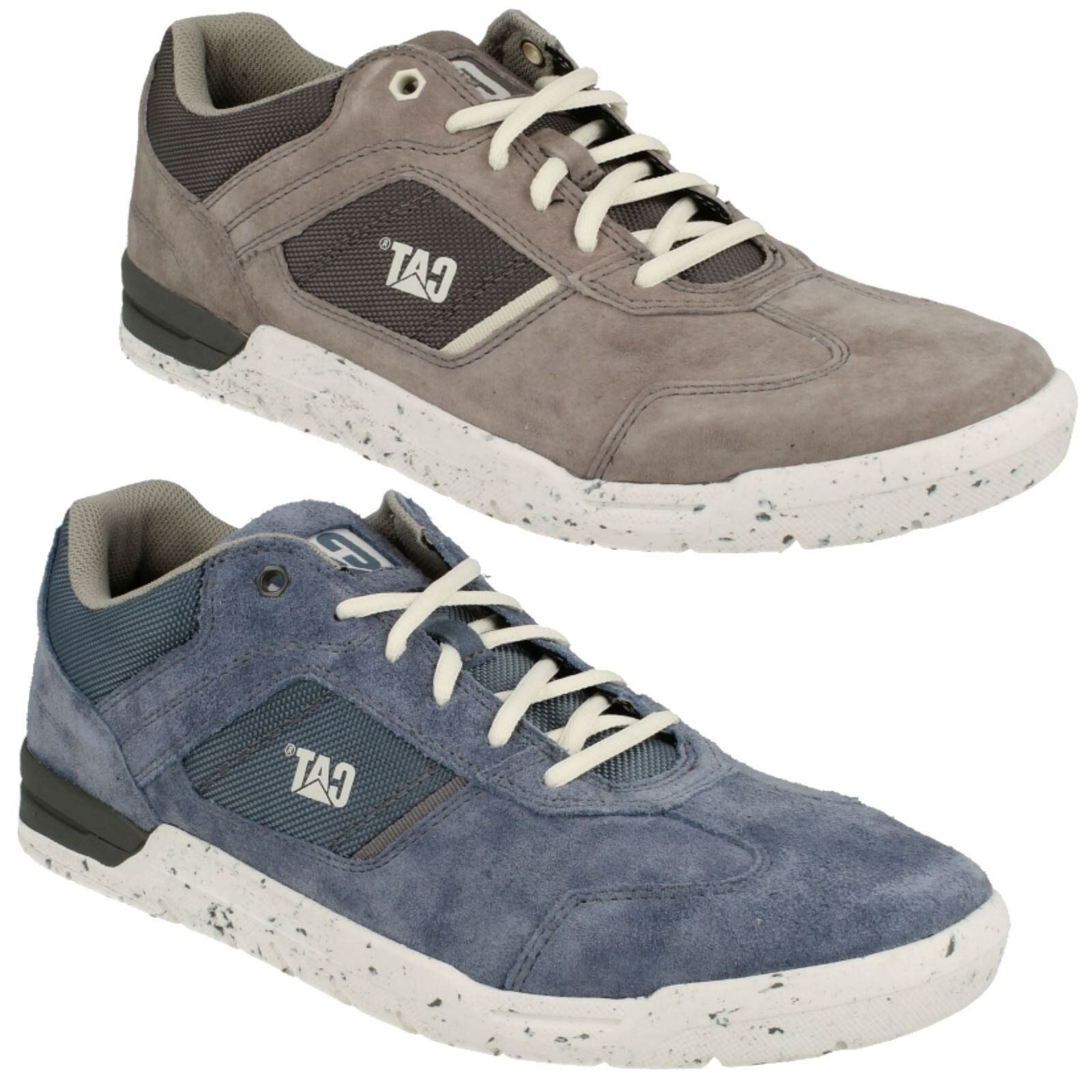 MENS CATERPILLAR LACE UP SUEDE LEATHER TRAINERS schuhe CHASM P719530
