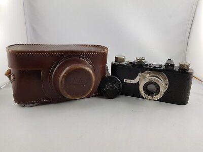 *absolute RaritÄt*original Leica I Von 1928 Seriennummer 9000 Mit Objektiv Elmar