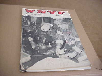 FDNY FDNY Museum WNYF 2 Marine Disaster pt 1st issue 1968