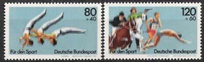 Bund Nr.1172/73 ** Sporthilfe 1983, Postfrisch