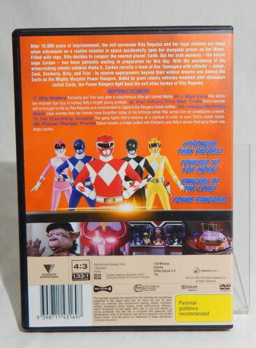 1 of 1 - DVD DISC MIGHTY MORPHIN POWER RANGERS VOLUME 3 POWER RANGER PUNKS EUC USED