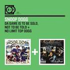 2 For 1: The Game Is To Be Sold,Not.../Top Dogg von Snoop Dogg (2014)