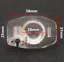 thumbnail 3 - License Plate Light Lens Housing With Back Up Camera Mount Bracket SCION xB xD