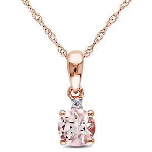 Amour-10k-Rose-Gold-Morganite-and-Diamond-Accent-Drop-Necklace