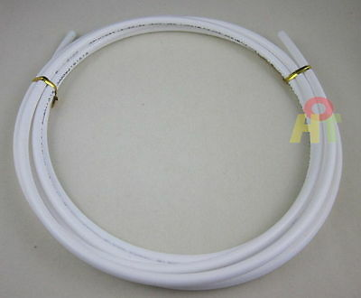 """1/4"""" 3m Meters 9ft Tube Tubing Hose Pipe for RO Water Filter System white PE"""
