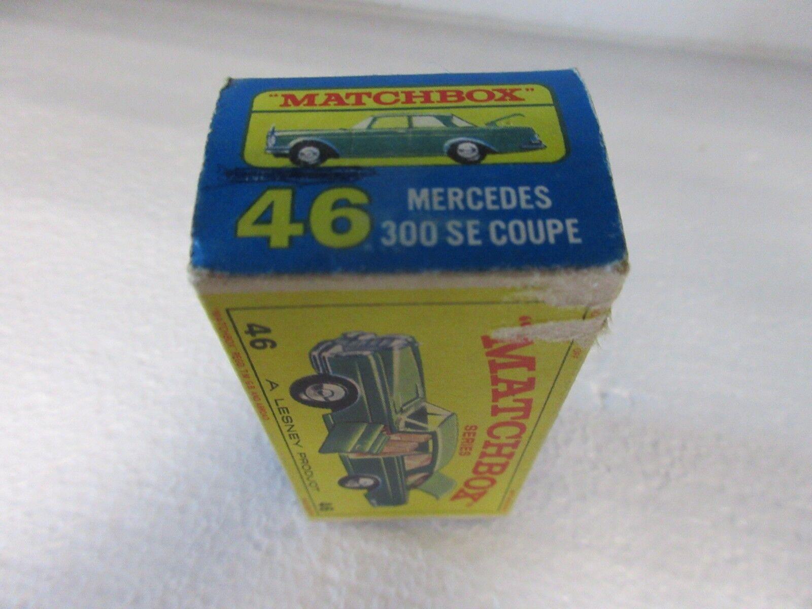 Matchbox    46 Mercedes 300 se Coupe ef9af6