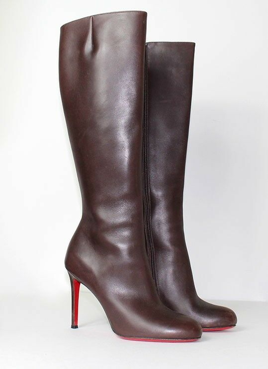 Christian Louboutin Brown Boots 7.5 Brand New