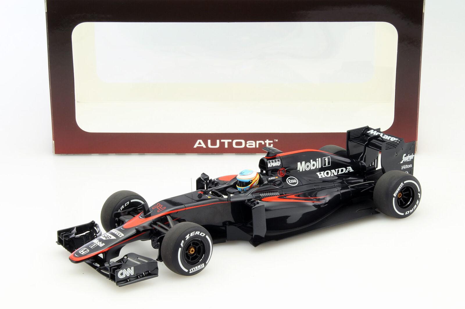 Fernando Alonso Mclaren Mclaren Mclaren mp4-30 #14 GP Espagne Formule 1 2015 1:18 AUTOart | France  07fd8b