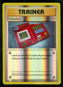 POKEMON XY EVOLUTIONS CARD POKEDEX 82//108
