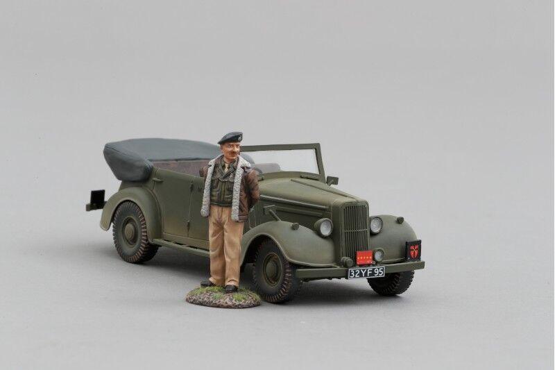 THOMAS GUNN GB011D Allied Staff Car with Monty (Normandy)