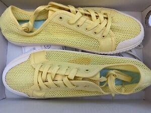 J.Crew sneakers Yellow Size